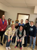 Staff members from Madison Plains donated their time and energy to Sufficient Grace on Martin Luther King day. We packed over 1,000 boxes for our participating students.