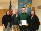 Congratulations to Rhyan, and his family, on being the February Student of the Month for MPHS for the Rotary Club!  Your accomplishments are impressive!  Keep up the great work, Rhyan!  Well done!