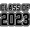 Class of 2023 text