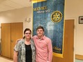 Isaac - Rotary Student of the Month for April