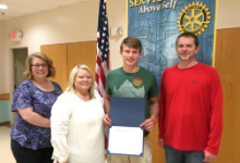 May Rotary Student of the Month