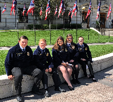 Members from the Madison Plains FFA Chapter met with other FFA members and government officers at Ohio Legislative Leadership Conference (OLLC) on September 25, 2019. This conference was held at the Ohio statehouse. Students had the opportunity to speak w