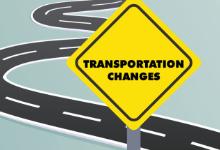 Transportation Changes - Sept. 8, 2021