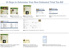 10 Steps to Determine Your New Estimated Total Tax Bill