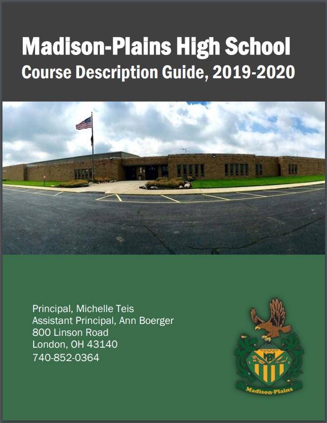 2019-2020 Course Description Guide and Registration Forms