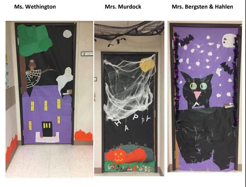 Halloween Door Decorating Contest