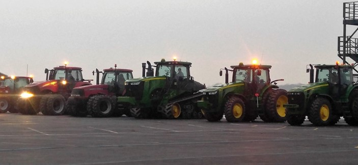 FFA Drive Your Tractor to School Day