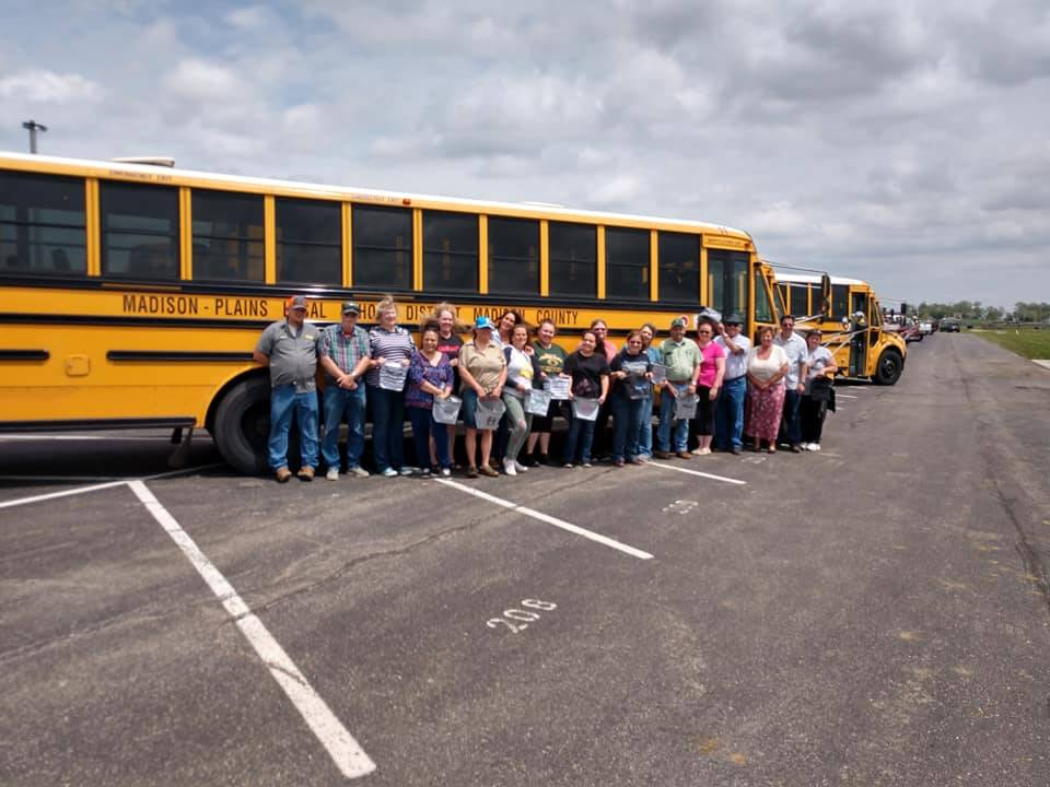 Thank you to our bus drivers!