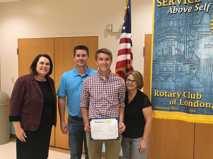 September Rotary Student of the Month