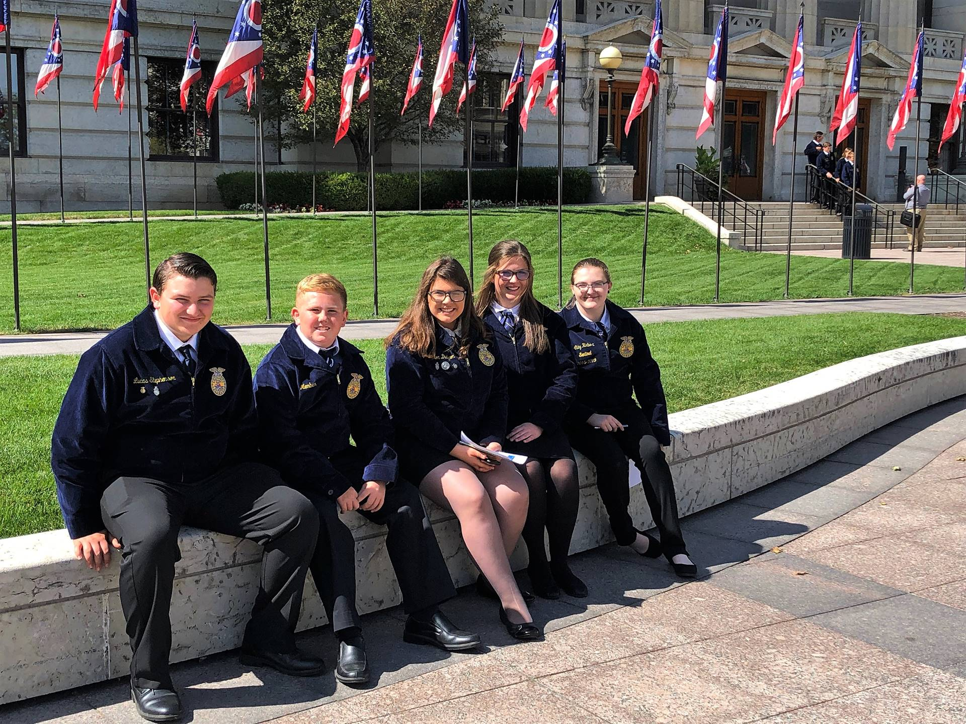 FFA Members at OLLC