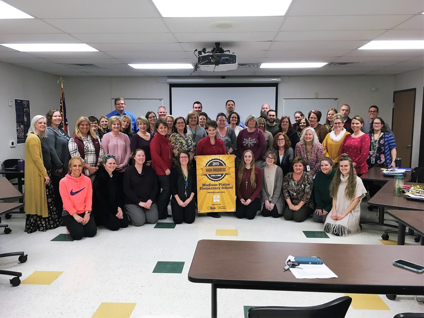 Congratulations to our Elementary Staff on earning the High Progress Award!