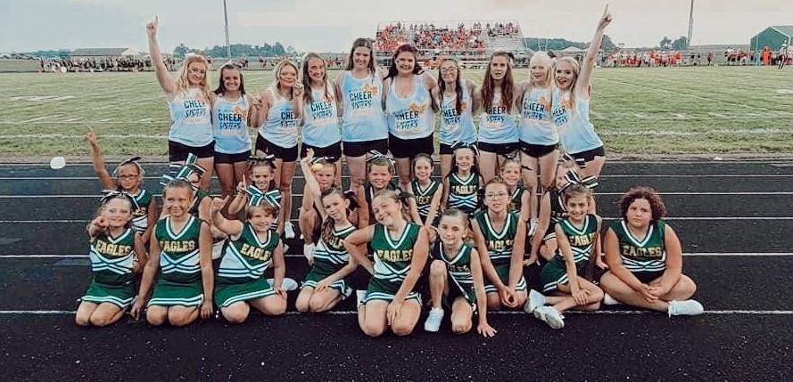 Cheerleaders - high school and GEYSA