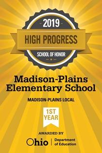 High Progress 2019 School of Honor Award
