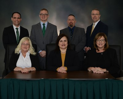 group photos of board of education members 2020